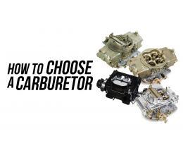 Carburetor Selector