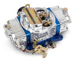 Holley 750 ULTRA DOUBLE PUMPER W/BLUE MANUAL CHOKE