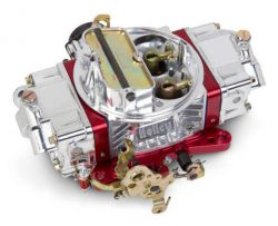 Holley 750 ULTRA DOUBLE PUMPER W/RED BILLET