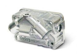 Holley SEC ALUM V BOWL W/O PUMP KIT - POL