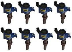 COIL 8PK,FORD LATE MOD ENG 3-VALVE, BLUE
