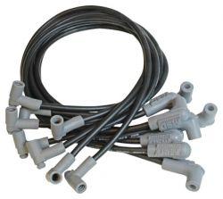 MSD Wire Set, Black, BB Chevy, L.P. Dist.