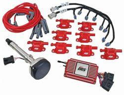 MSD DIS Kit, Chevy Small/Big Block, Red