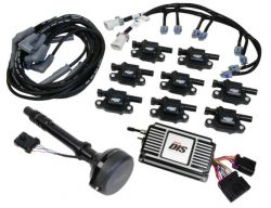 MSD DIS Kit, Chevy Small/Big Block, Black