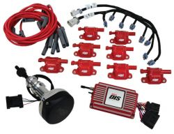 MSD DIS Kit, Small Block Ford, 289-302, Red