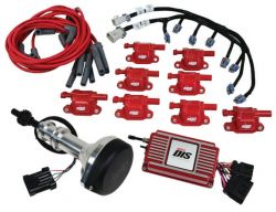 MSD DIS Kit, Small Block Ford, 351W, Red
