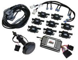 MSD DIS Kit, Small Block Ford, 351W, Black