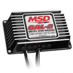 MSD BLK MSD-6AL-2, w/2-Step Limiter,4,6,8cyl