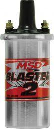 MSD Blaster 2 Coil, Chrome, w/Ballast/Hrdwre