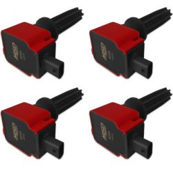 MSD Coil,RED,Ford Eco-Boost 2.0L/2.3L,4-Pk