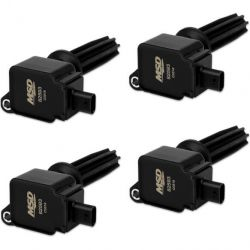 MSD Coil,BLACK,Ford Eco-Boost2.0L/2.3L,4-Pk
