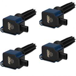 MSD Coil,BLUE,Ford Eco-Boost 2.0L/2.3L, 4-Pk