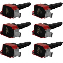 MSD Coil,RED,Ford Eco-Boost 2.7L V6, 6-Pk