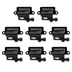 MSD Coil,Black,GM,L-Series,Truck,99-09,8-Pk