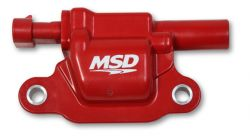 MSD Coil, Red, Square, 2014 & up GM V8