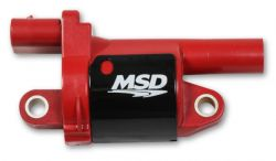 MSD Coil, Red, Round, 2014 & up GM V8