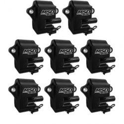 Coils,BLACK,GM LS Series (LS-1/6), 8-Pk