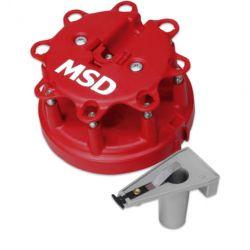 MSD Distr. Cap/Rotor Kit, Ford Duraspark
