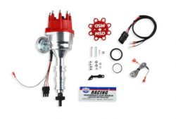 MSD DISTRIBUTOR, FORD FE, R-T-R, STEEL GEAR