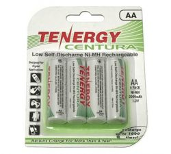 Rechargeable AA Battery - 4 pk