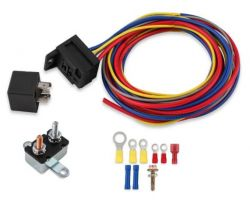 MSD Electric Fuel Pump Harn./Relay Kit 30A