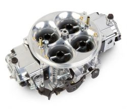 Holley 4500 1250 CFM 3 CIR 2X4 - BLACK