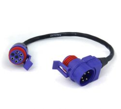 """CABLE TEE CONNECTOR 9"""" W/TERM"""